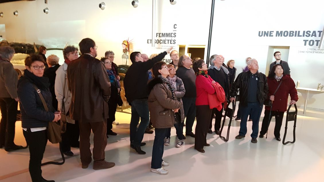 Visite guidée Groupe